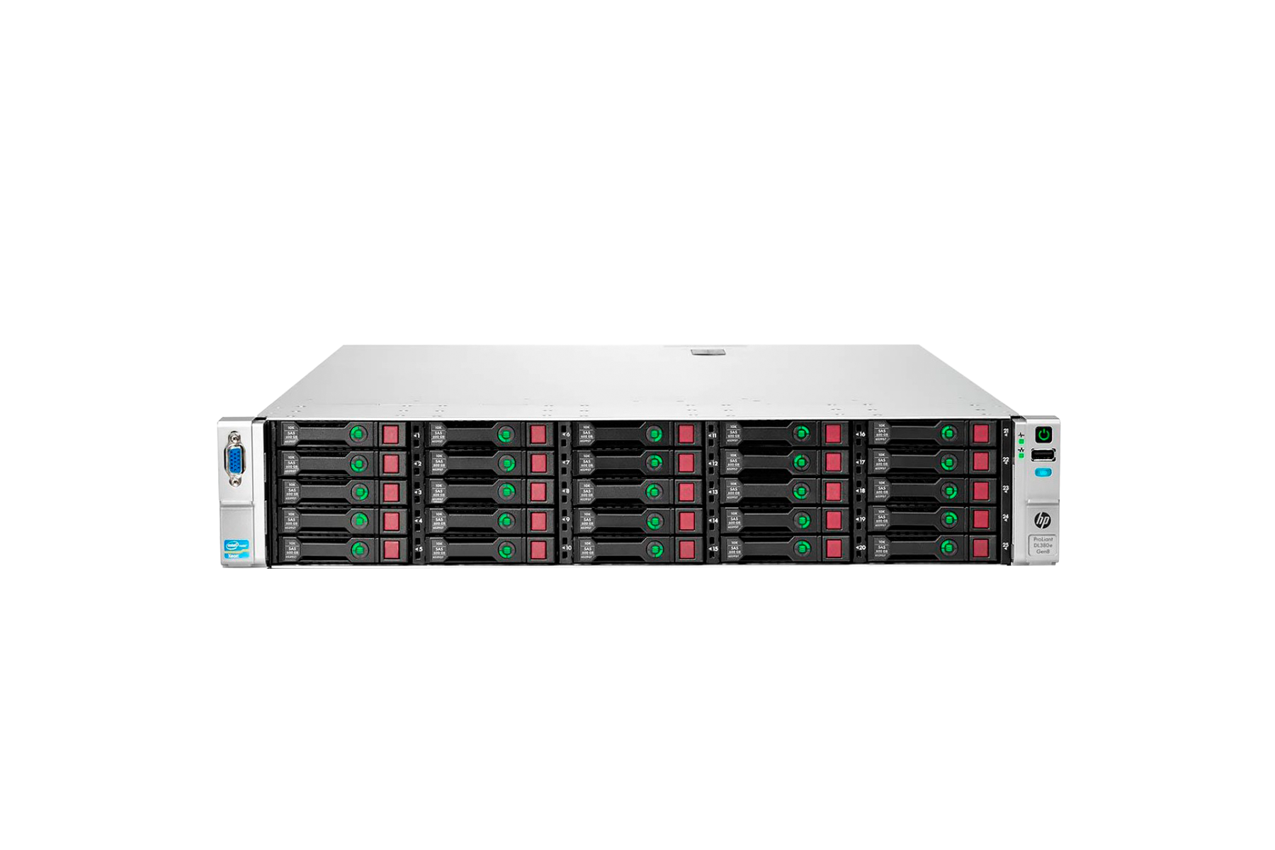 Сервер HPE ProLiant DL380e Gen8