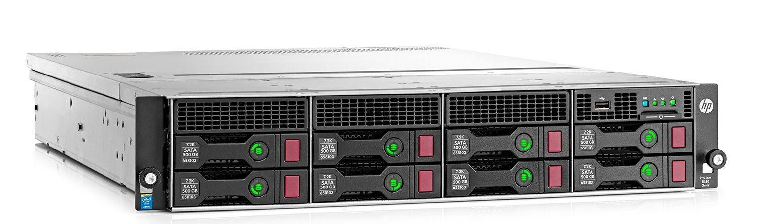 Сервер HP DL80 Gen9