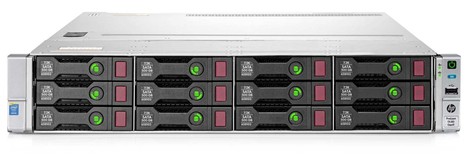 Сервер HP DL380 Gen9 12×3,5″